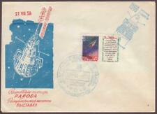 "Soviet Space Cover 1958. ""Sputnik 3"" 1000.Orbit"