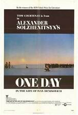 ONE DAY IN THE LIFE OF IVAN DENISOVICH Movie POSTER 27x40 Tom Courtenay Alfred
