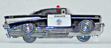 KINSMART 1957 CHEVY POLICE CAR WITH PULL BACK ACTION