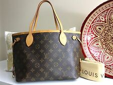 Auth LOUIS VUITTON Neverfull PM Small Tote Shoulder Bag - Monogram Canvas