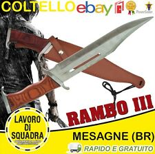 Coltello sopravvivenza John Rambo 3 Esercito Marina Militaria Softair Survival