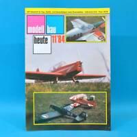 Modellbau heute 11/1984 GST DDR Flugmodell Schiffsmodell OBC-Schiff Weimar