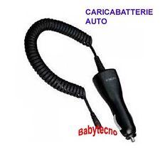 CARICABATTERIA adatto a MOTOROLA V3 L W270 Blackberry CAVO AUTO W360 W375 L6 L9