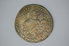 German States: Saxony- 1602-HB Thaler- EF with some edge bumps.