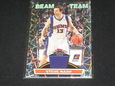 STEVE NASH SUNS BEAM TEAM CERTIFIED AUTHENTIC PACK PULLED GAME WORN JERSEY CARD