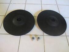 TWO Roland CY-12R/C V-Cymbal V Drum Crash Ride Cymbal Cy12 r/c