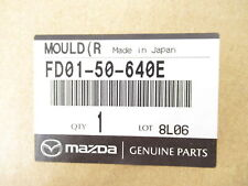 Genuine OEM Mazda FD01-50-640E Passenger Window Sweep Belt Molding 1993-95 RX-7