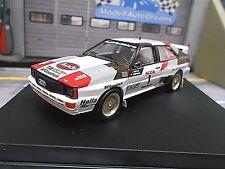 AUDI Quattro Rallye Gr.B Pikes Peak Winner Sieger Buffum 1983 limit Trofeu 1:43