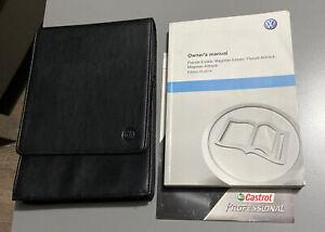 VW PASSAT ESTATE OWNERS MANUAL HANDBOOK & FOLDER MAGOTAN ALLTRACK B7 2010-2015