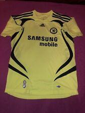 Rare Adidas Mens Chelsea Neon Away Jersey 2007/08, Size Medium