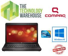"Compaq 610 Laptop 15.6"" Powerful Notebook with Webcam + WIFI & Windows 10"