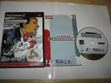 J.League Winning Eleven Tactics Playstation PS2 Japan import