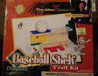 Baseball Shelf Project Kit / Tim Allen Signature Stuff Sealed