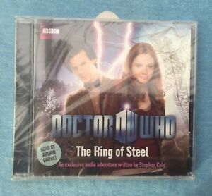 🌟THE RING OF STEEL🌟DOCTOR WHO🌟AUDIO BOOK🌟DR DW🌟MATT SMITH🌟UK🇬🇧SELLER🌟