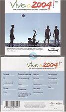 VIVE O 2004 CD ALBUM uefa euro 2004 portugal u2 the jam oasis furtado shed seven