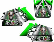 YAMAHA BANSHEE GRAPHICS WRAP DECAL STICKER KIT TURBO CHARGED SHROUDS GREEN
