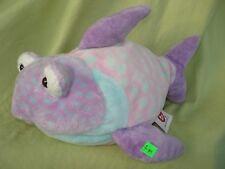 Peluche n°J99 : doudou Poisson violet/rose 27cm TY fish