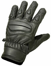 Lite Summer Leather Motorcycle Gloves Motorbike Tactical Mittens Knuckle Pads