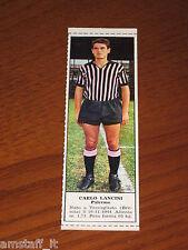 *CARLO LANCINI PALERMO=FIGURINA=1966/67=ALBUM FIGURINE CALCIATORI TEMPO