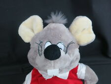 BIG PLUSH MOUSE BACKPACK SCHOOL BAG LOVEY CHARACTER TOY SOFT STUFFED ANIMAL