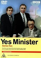 Yes Minister : Series 2 (Season Two DVD, 2002, BBC)