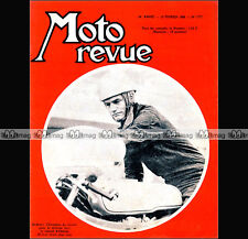 MOTO REVUE N°1777 TRICYCLE LEON BOLLEE, GRASS-TRACK, JAWA-CZ, JIM REDMAN 1966