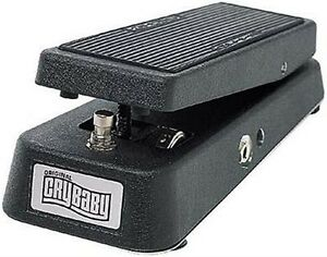 ORIGINAL DUNLOP GCB-95 CRYBABY CRY BABY WAH WAH EFFECTS PEDAL & POWER SUPPLY