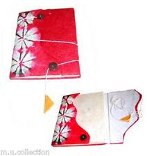 NB-04 Curve Design Nepalese Handmade Lokta Paper Notebook Sketch Journal Diary