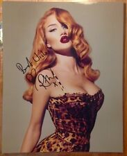 Rosie Huntington Whiteley signed autographed 8x10 photo In Person