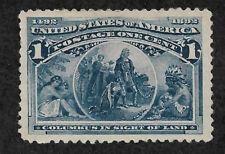 US # 230 (1893) 1c - MNH - XF - Columbus in Sight of Land