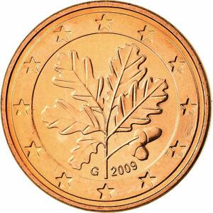 [#699850] République fédérale allemande, 5 Euro Cent, 2009, FDC, Copper Plated S