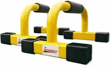 Push-Up Stands Bars Parallettes Set for Workout Exercise