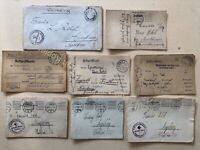 Feldpost Nachlass Briefe WK1 Arndt-Haus Nürnberg Vereinslazarett 1915