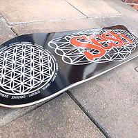 Skateboard Skate Deck Flower Of Life Cool Sesh Design 7.75 8 8.25 8.5 available