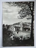 TRIESTE Stazione Centrale pompa benzina vecchia cartolina