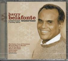 CD 14T HARRY BELAFONTE AMERICAN WINTERTIME A HOLIDAY ALBUM DE 2006 NEUF SCELLE