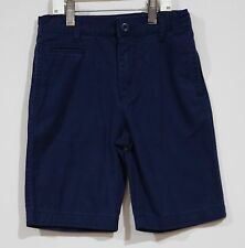 Euc Old Navy Boys Back to School Navy Blue Uniform Shorts Size 7