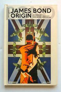 Ian Fleming's James Bond Origin V 1 Hardcover Dynamite Graphic Novel Comic Book