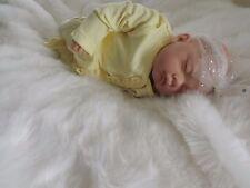 OLIVIA FAKE BABY GIRL Realistic Lifelike Mottled Reborn Doll Child Birthday Xmas