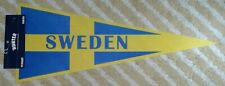 Sweden Full Size country Pennant olympics hockey soccer