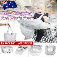 Baby Shopping Trolley Cover Soft Seat Cotton Protector High Chair Cushion Mat AU