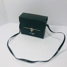 VINTAGE Tasco ZAP Binoculars Replacement Carrying Travel Case Green (Q)