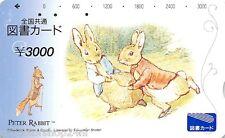 Ticket Japan 3000 Yuan Peter Rabbit Catalog : I-3000-35