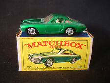 Matchbox 75 Ferrari Berlinetta Diecast Car With Box Intact