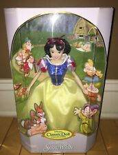 Brand New DISNEY EXCLUSIVE CLASSIC DOLL COLLECTION PRINCESS SNOW WHITE DOLL