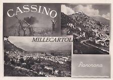 CASSINO: Panorama - 3 vedute   1950