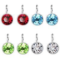 Earrings Diamond Pierced Earrings Ball Drop/Dangle Earring Women Jewelry