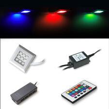 Spot d' Eclairage LED en RVB (multicolore) Illumination Alimentation électrique