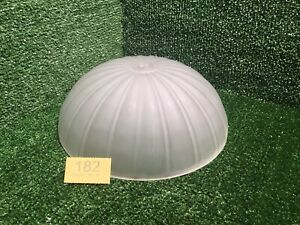 ART DECO Style WHITE FROSTED GLASS CEILING LIGHT LAMP SHADE