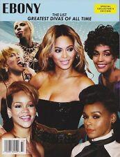 EBONY Magazine the greatest divas Beyonce Rihanna Whitney Houston Tina Turner